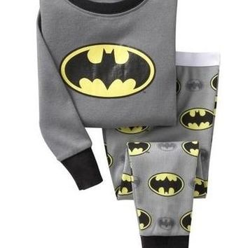 Pajamas Winter Batman Long Johns