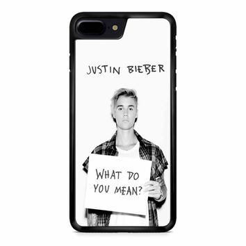Justin Bieber What Do You Mean iPhone 8 Plus Case