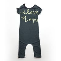 Love Naps Green Romper from Henry + Claire