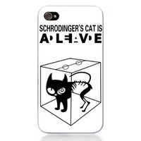 Movie Theme Collection iPhone 4 / 4S Case - The Big Bang Theory Schrodinger's Cat