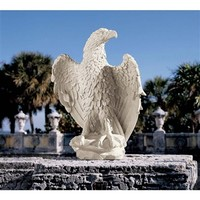 SheilaShrubs.com: America's Eagle Sculpture NG32111 by Design Toscano: Garden Sculptures & Statues