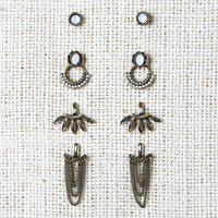 Free Bird Ear Jacket Earrings Set