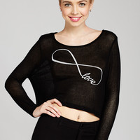 Love' Always and Forever Crop Top