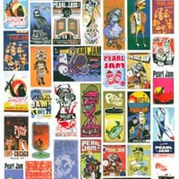 Pearl Jam Live on Two Legs Poster 11x17