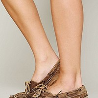 Bed Stu  Mainland Distress Boatshoe at Free People Clothing Boutique