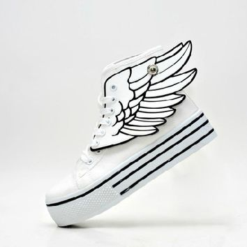 Angel Wings wings shoes high-top shoes