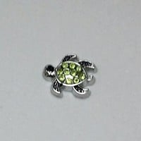Turtle Floating Charm