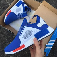 Adidas NMD XR1 Duck Camo Women Men Running Sport Casual Shoes Sneakers Camouflage blue white soles