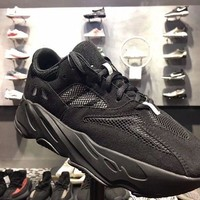 Yeezy Wave Runner 700 Boost Calabasas Color ALL BLACK