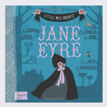 JANE EYRE: A BabyLit® Counting Primer - Board Book
