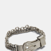 Maison Margiela Double Chain Buckled Bracelet | LN-CC