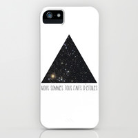 We Are All Made of Stars iPhone & iPod Case by Amber Keyser