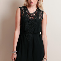 Thalia Lace Detail Dress