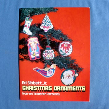 Christmas Ornaments Iron On Transfer Patterns Book