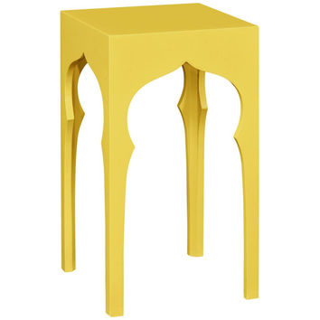 Moroccan Square Lamp Table | Raincoat