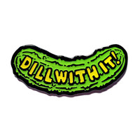 Dill With It Lapel Pin