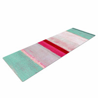 "CarolLynn Tice ""Higher"" Pink Mint Yoga Mat"