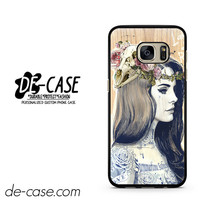 Lana Del Rey Tattoo Edge DEAL-6340 Samsung Phonecase Cover For Samsung Galaxy S7 / S7 Edge
