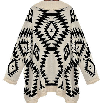 AZTEC PRINT inspired loose knit