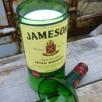 Jameson Whiskey Bottle Scented Candle