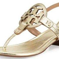 Tory Burch Miller 30mm Sandal Leather Shoes