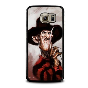 freddy krueger 3 samsung galaxy s6 case cover  number 1