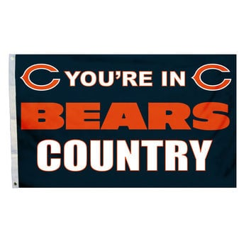 Chicago Bears Country 3X5 Flag
