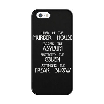 American Horror Story Cover iPhone 5|5S Case