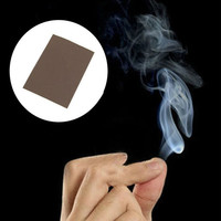 Premier Smoke From Finger Tips Magic Trick Surprise Prank Mystical Fun Toys (Color: Brown) = 1695570948