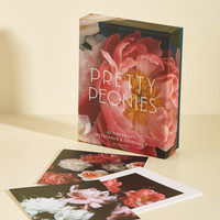 Pretty Peonies Notecard Set | Mod Retro Vintage Desk Accessories | ModCloth.com