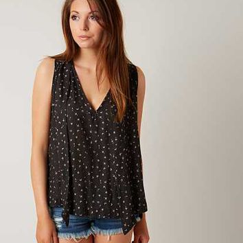 FREE PEOPLE HIGH LOW HEM TANK TOP