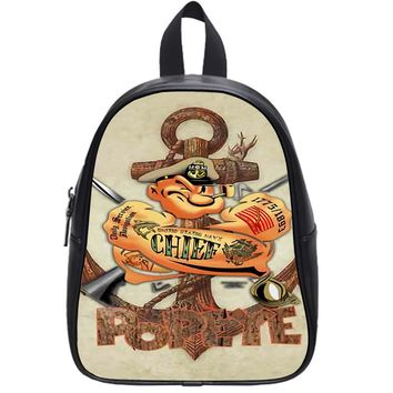 Popeye Anchor School Backpack Large
