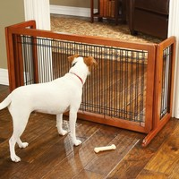 SAVE Freestanding Hardwood Dog Gates