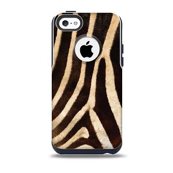 The Real Zebra Print Texture Skin for the iPhone 5c OtterBox Commuter Case