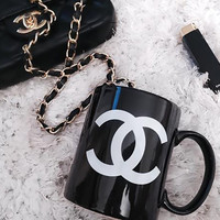 Fashion Black Mug