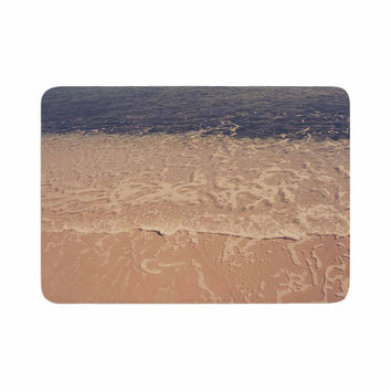 "Violet Hudson ""Crystal Water"" Brown Tan Memory Foam Bath Mat"