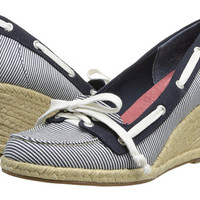 Sperry Top-Sider Clarens Navy Engineer Stripe - 6pm.com