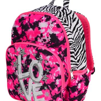 Dye Effect Zebra Backpack | Girls from Justice | Must Have🎀