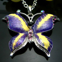 Butterfly Spelled Necklace | annikasmagickalarts - Limited Run on ArtFire