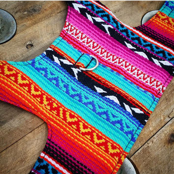 Mexican Chihuahua Dog Harness, Dog Vest, Pet Accessories