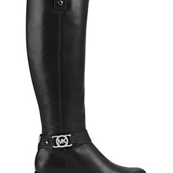MICHAEL Michael Kors Charm Wide Calf Riding Boots
