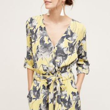 Elevenses Somerset Romper in Yellow Size: