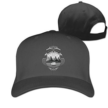 RTYUUIO Unisex Coat Of Arms Of Costa Rica Hat Black One Size