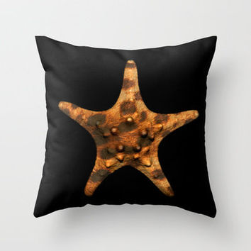CHEET-STAR Throw Pillow by catspaws | Society6