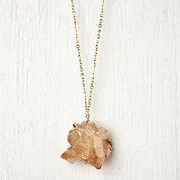 Dara Ettinger Free People Clothing Boutique > Rose Quartz Pendant