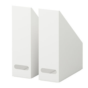 KVISSLE Magazine file, set of 2 - IKEA