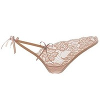 Buy Home Women's Sexy Lingerie Lace T-Back String G-string Thong Panty Briefs