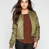 Volcom In Flight Womens Jacket Military  In Sizes