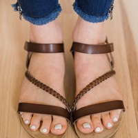 Blowfish Goya Sandals- Russet