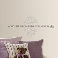 Disney Pinocchio ''Conscience'' Wall Decals (Grey)